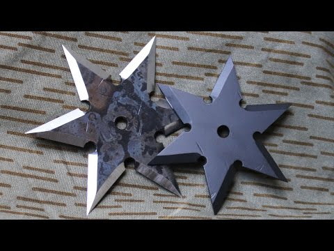 How To Make a Ninja Throwing Star (Shuriken)