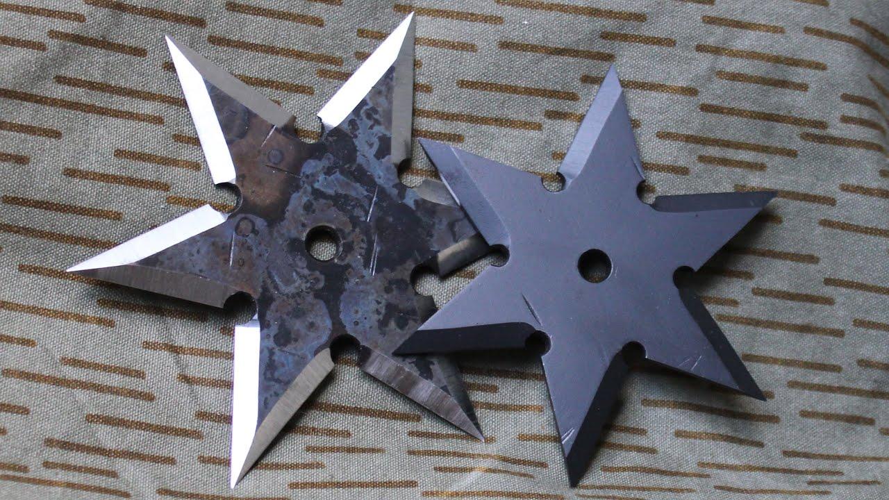 how to make a ninja throwing star shuriken doovi. Black Bedroom Furniture Sets. Home Design Ideas