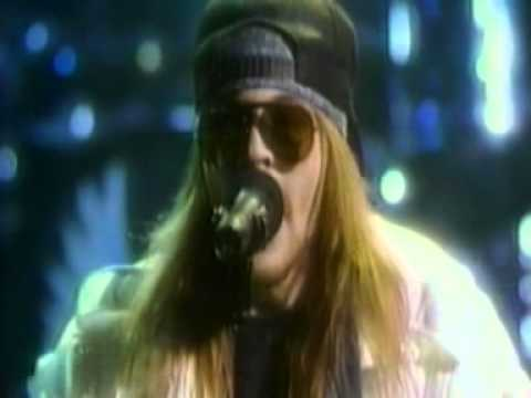 welcome to the jungle 1988 MTV music awards