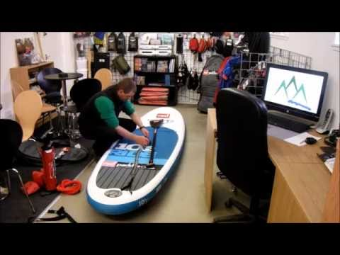 How to pack away a Ride 10 6 Red Paddle Co ISUP