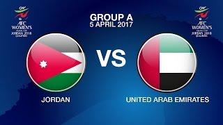 AFC Women's Asian Cup Jordan 2018 Qualifiers Grp A - JOR vs UAE