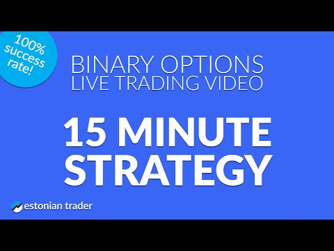 15 Minute Strategy – Live Trading Video – 24option.com