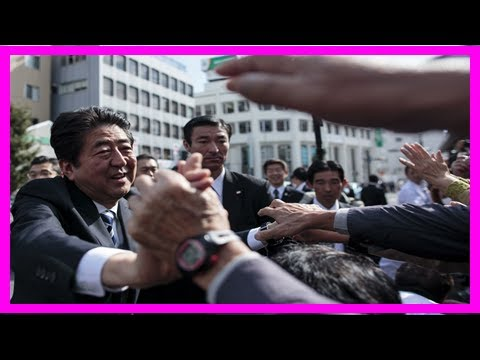 Abe offers stability — and in japan, that's sufficient