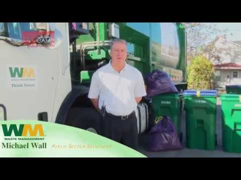 New Trash & Recycling Barrel Demo by Waste Management