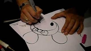 drawing hello kitty X sandy