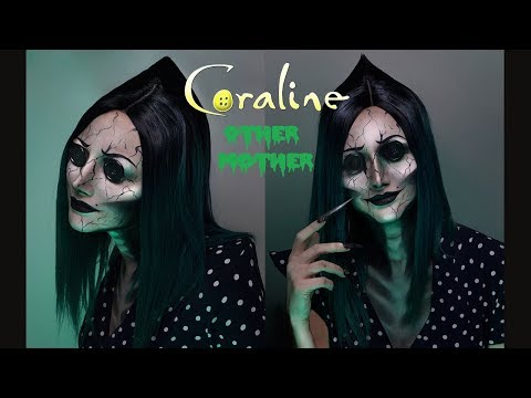 Coraline S Other Mother Makeup Tutorial Rebeccaseals Youtube