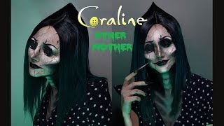 Coraline's Other Mother Makeup Tutorial | @rebeccaseals