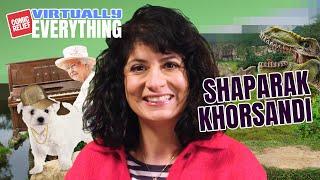 Shaparak Khorsandi Reveals Royal Obsession   Virtually Everything