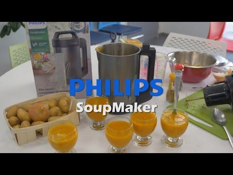 philips-soupmaker-hr2204/80---démo-du-blender-chauffant-en-français-fr