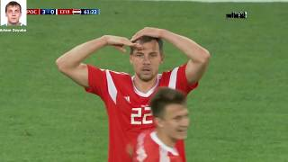 Потрясающая реакция бразильского болельщика на победу России vs Египет  Все голы матча