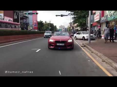 BMW M6 sport super car colombo sri lanka rolling on the street bmw m sport lamborghini ferrari vibes