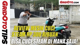 Tes Mesin Cuci Steam Mini Murah   GridOto Tips