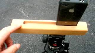 Homemade Iphone Tripod Mount