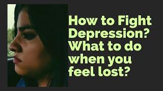 Depression Ko Kaise Dur Kare - How To Fight Depression? | Hello Friend TV