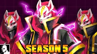 Drift Skin Level 5 Level / Season 5 - Fortnite Battle Royale Gameplay English
