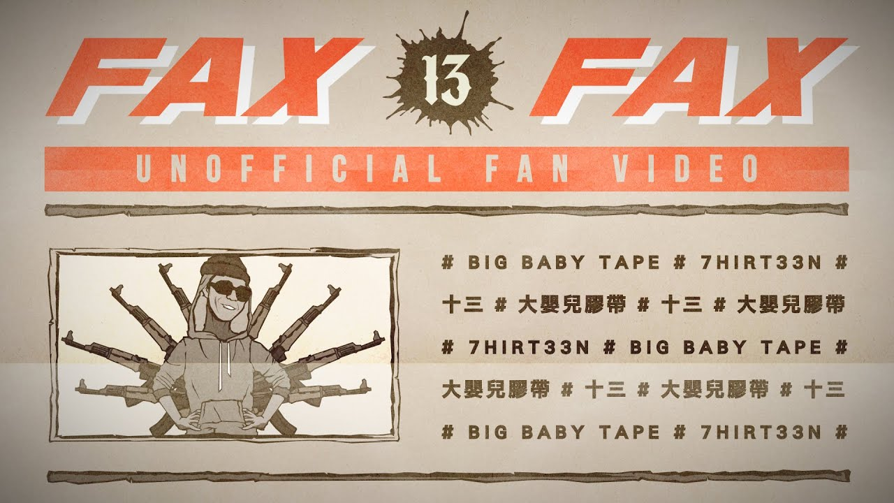 Big Baby Tape  - FAX (Unofficial Video 2019)
