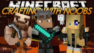 Crafting with Noobs - Enter The Nether (15)