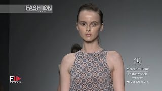 AN ODE TO NO ONE Spring Summer 2012 2013 MBFW Australia - Fashion Channel