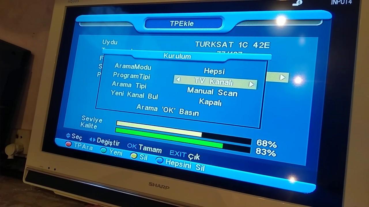 VESTEL TVLERDE BİSS KEY NASIL GİRİLİR