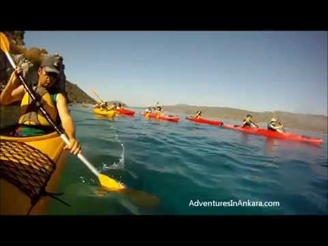 Adventures In Ankara presents Kayaking Kas   with Xanthos Travel  720