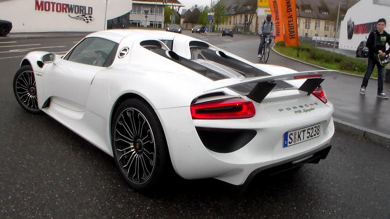 porsche 918 spyder sound hd youtube. Black Bedroom Furniture Sets. Home Design Ideas