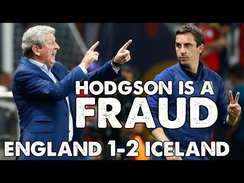 "England v Iceland 1-2 |  ""Hodgson Is a Fraud!"" |  Roy Hodgson Resigns"