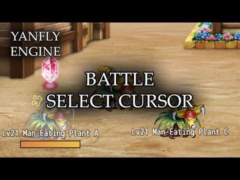 YEP 101 - Battle Select Cursor - RPG Maker MV