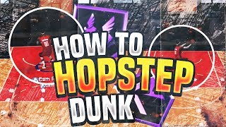 NBA 2K20 HOW TO HOPSTEP DUNK OR LAYUP!! EASY!! JOE KNOW'S FAVORITE MOVE FOR A REASON!!