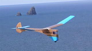 Steampunk style glider.