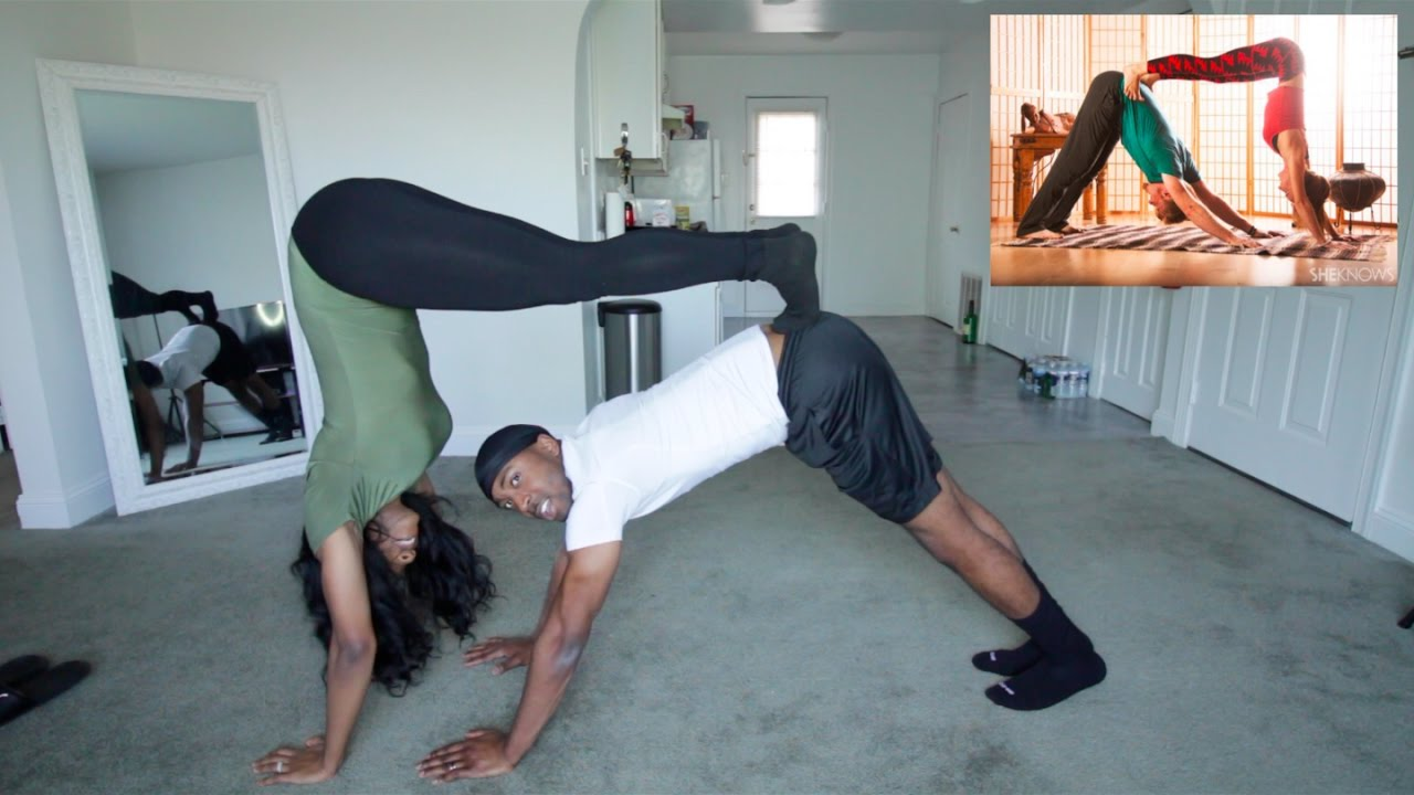 YOGA CHALLANGE | Married Edition *HILARIOUS*
