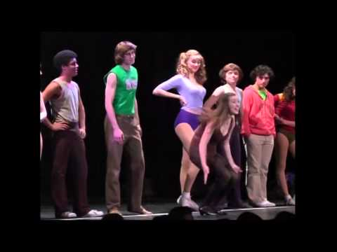 A Chorus Line,Hopewell Valley HS NJ Act 1 Andres Moledo