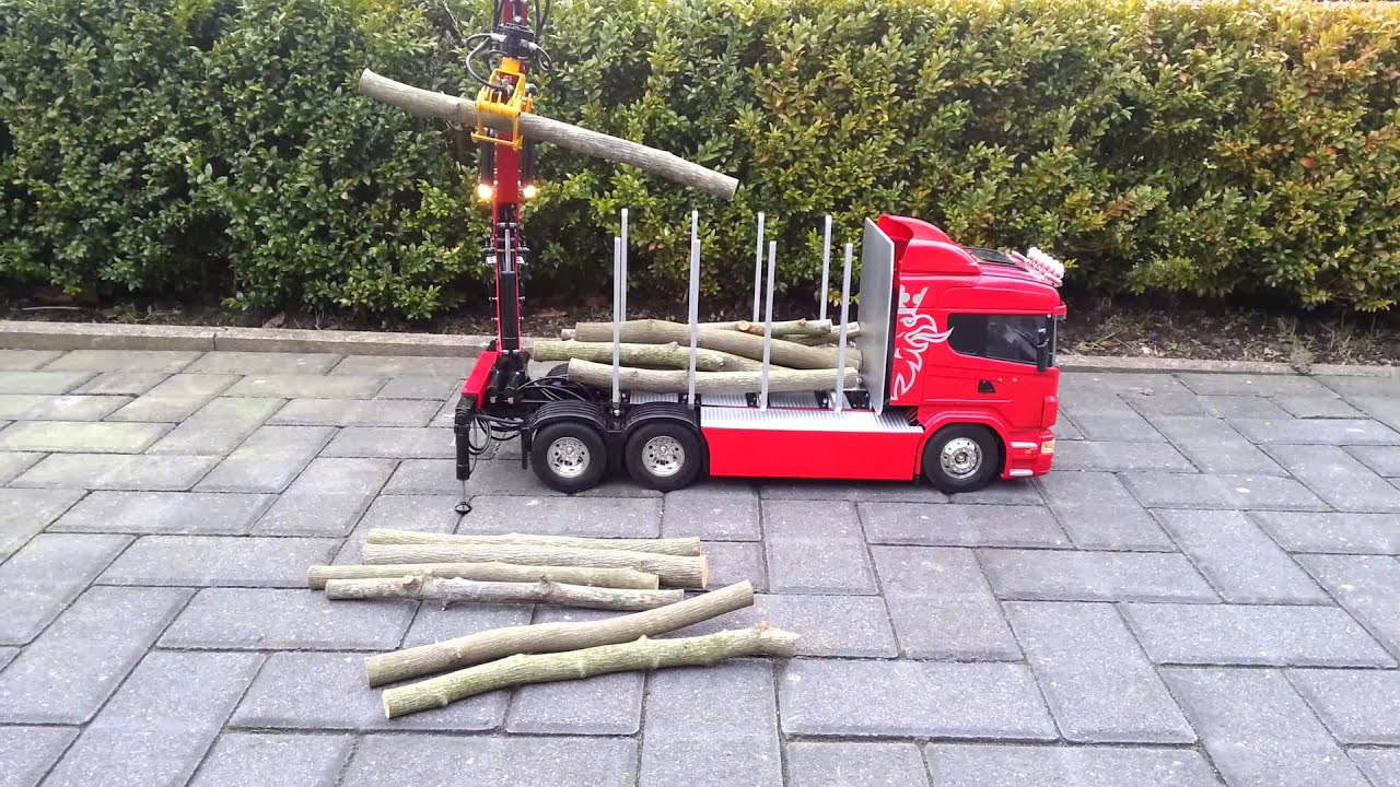 Tamiya Scania Timber Truck Youtube