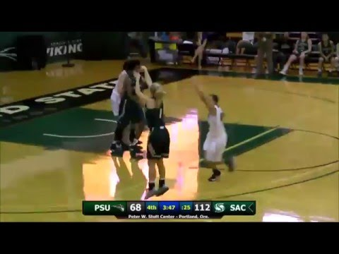 Sacramento State Breaks NCAA Record with 25 Made Threes
