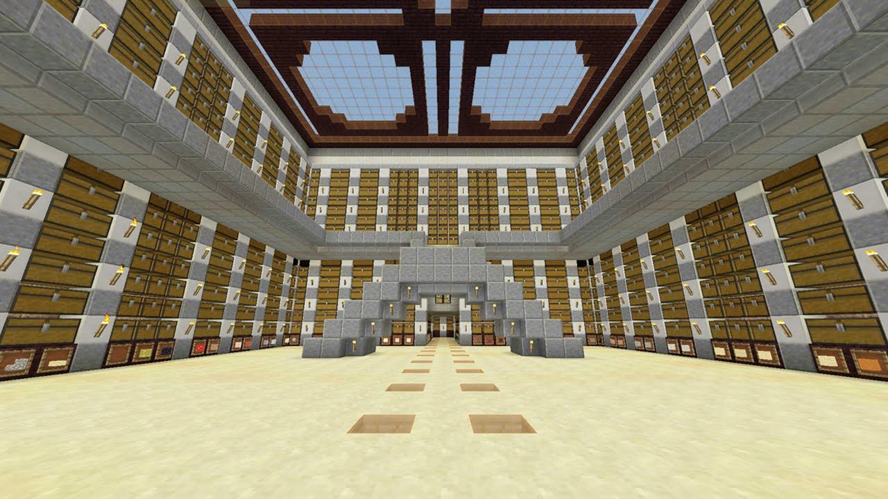 Minecraft sala de ba les dise o youtube - Baules de diseno ...