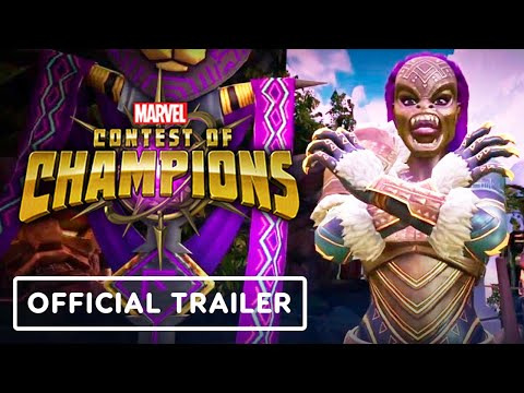 Marvel Contest of Champions - Official Jabari Panther Special Moves Trailer