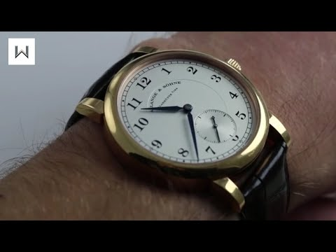 A. Lange & Sohne 1815 Luxury Watch Review