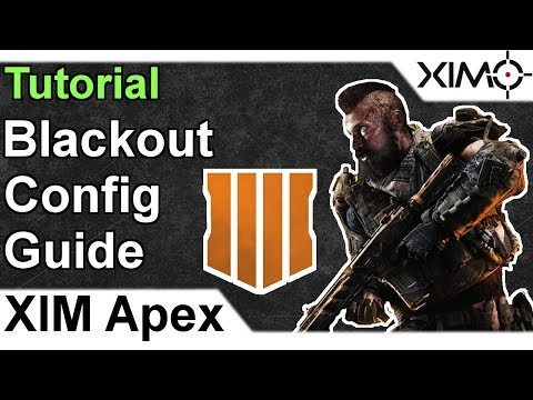 XIM APEX - Call of Duty Blackout Config Tutorial