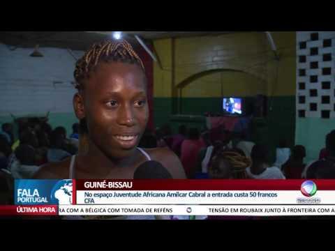 FALA PORTUGAL - Guiné Bissau - População faz de tudo para assistir à TV Record