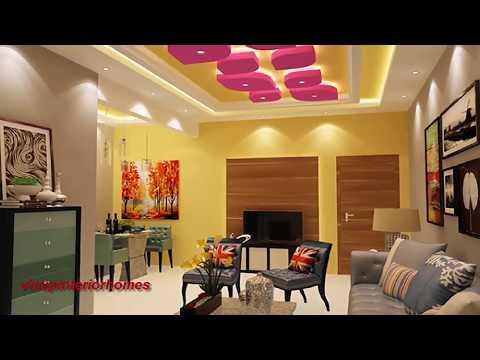 25 Latest Gypsum False Ceiling Designs Living Room