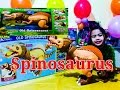 Dinosaur Train Old Spinosaurus Biggest Baddest Hungriest Extreme Interction l Kids Baloons and Toys