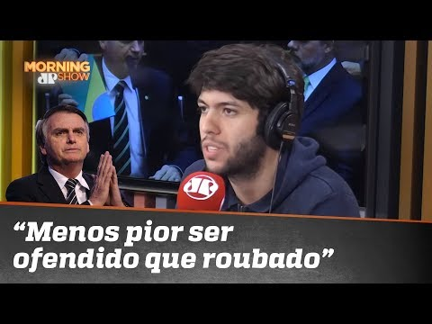 """Caio Coppolla sobre Bolsonaro no STF: """"é menos pior ser ofendido que roubado"""""""