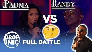 Drop the Mic: Padma Lakshmi vs Randy Jackson- FULL BATTLE    REEEAACCTION!!!!