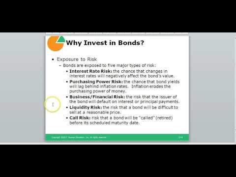 Bonds cont
