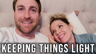 KEEPING THINGS LIGHT // FAMILY OF 5 AT HOME VLOG // BEASTON FAMILY VIBES