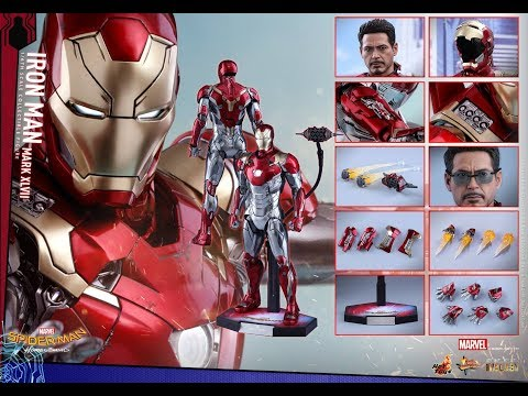 HOT TOYS - IRON MAN MARK XLVII 47 - MMS427 D19 - SPIDERMAN H