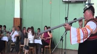 80. výročie založenia školy Trnava - slávnostný program - folklorista - pán Anton Budinský