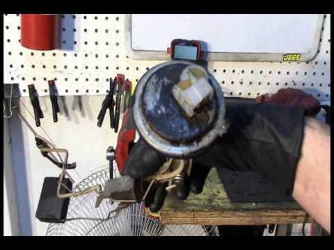 Diagnosis of Stuck Fuel Gauge- Is it Gauge or Sending Unit? - YouTube