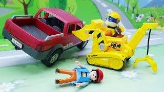 Мультики для детей онлайн Мультфильмы с игрушками - Спасение велосипеда. Щенячий патруль - Плеймобил