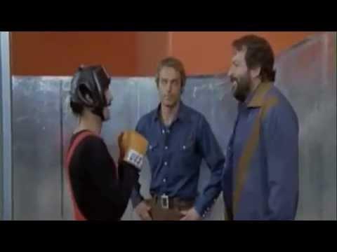 Prügelszene in der Turnhalle  Zwei wie Pech und Schwefel Bud Spencer und Terence Hill German