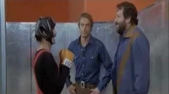 Prügelszene in der Turnhalle - Zwei wie Pech und Schwefel (Bud Spencer und Terence Hill) German